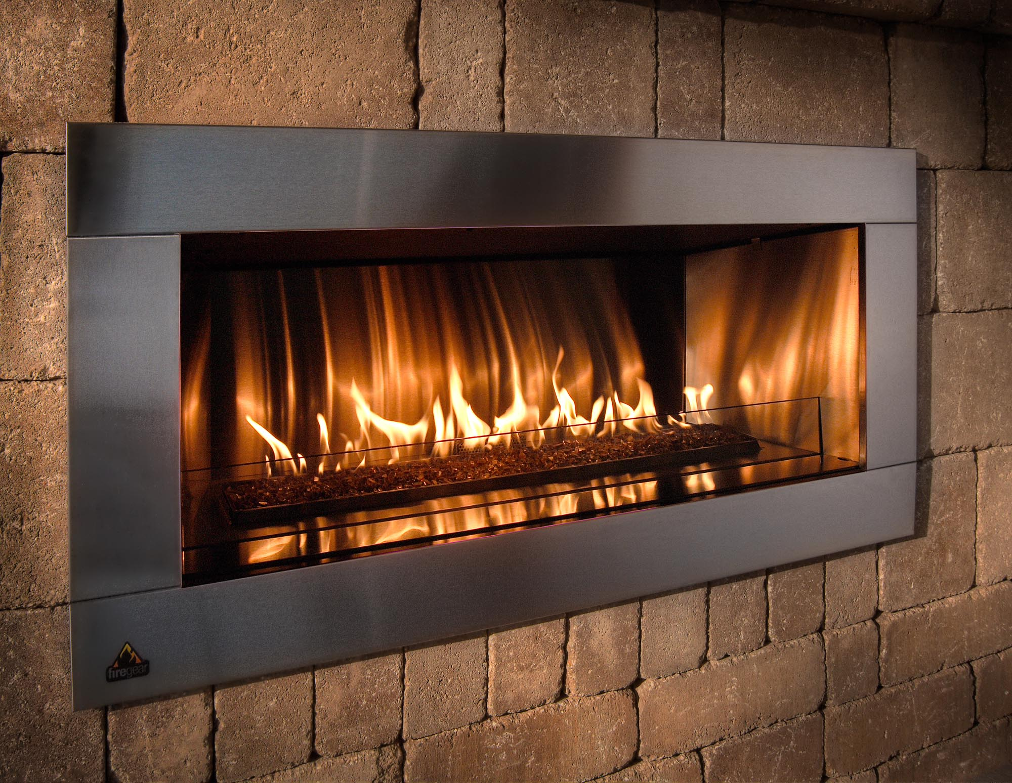 Encore plus d id es de r novations pour l automne for Contemporary ventless gas fireplaces
